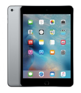Apple iPad Mini 4 128GB, WiFi-Cellular, Space Gray (MK762RK/A)
