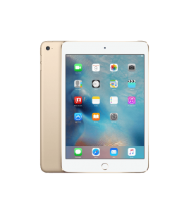 Apple iPad Mini 4 128GB, WiFi-Cellular, Gold (MK782RK/A)