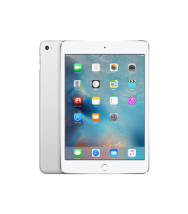 Apple iPad Mini 4 128GB, WiFi-Cellular, Silver (MK772RK/A)