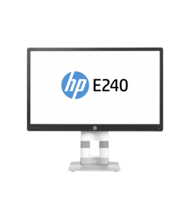 HP EliteDisplay E240, 23.8-inch IPS Monitor, 1920x1080, 7ms, Swivel, Pivot, VGA, HDMI, DP (M1N99AA)
