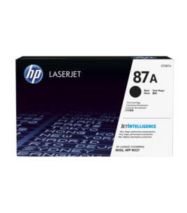 HP 87A LaserJet Toner Cartridge, Black (CF287A)