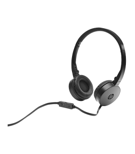 HP H2800 Headset, Black (J8F10AA)