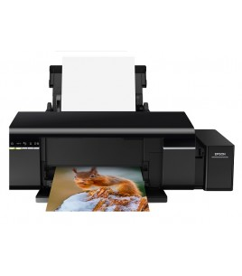 Epson L805 ITS Printer, A4, 5760x1440, 37ppm, USB, WiFi (C11CE86401)