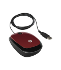 HP X1200 Flyer Red Wired Mouse (H6F01AA)