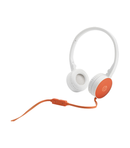 HP H2800 Headset, Orange (F6J05AA)