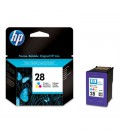 HP 28 Tri-Colour Ink Cartridge, 17ml (C8728AE)