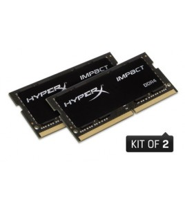 Kingston HyperX Impact 8GB (2x4GB) DDR4 2400MHz CL14 SODIMM (HX424S14IBK2/8)