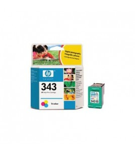 HP 343 Tri-colour InkJet Print Cartridge (7ml) (C8766EE)
