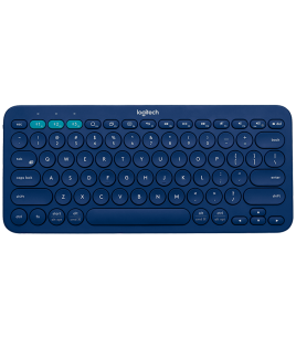 Logitech K380 Multi-Device Bluetooth Keyboard, Blue