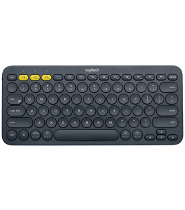 Logitech K380 Multi-Device Bluetooth Keyboard, Grey