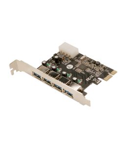 LogiLink PCI Express Card 4x USB 3.0 (PC0057A)