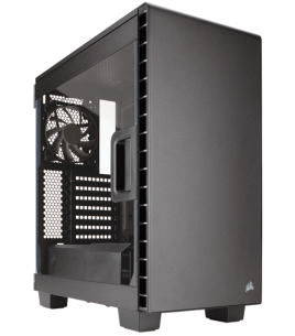 Corsair Carbide Clear 400C Compact Midi Tower, Black (CC-9011081-WW)
