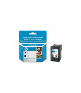 HP 21 Black InkJet Print Cartridge (5 ml) (C9351AE)