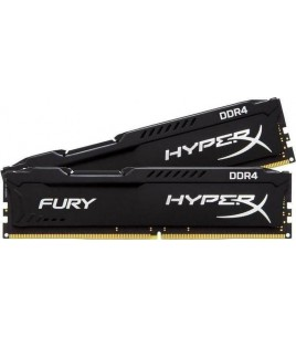 Kingston HyperX Fury Black 8GB (2x4GB) 2400MHz DDR4 CL15 (HX424C15FBK2/8)