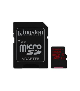 Kingston microSDXC UHS-I U3 128GB, w/ adapter (SDCA3/128GB)