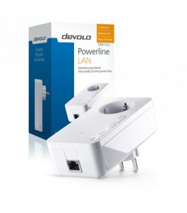 Devolo dLAN PowerLine 1200+ Single Adapter (09375)