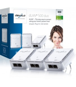 Devolo dLAN Powerline 500 Duo Network Kit (09121)