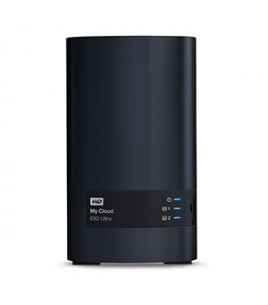Western Digital My Cloud EX2 Ultra 2-bay NAS, Diskless, Marvell CPU, 1GB, 2xUSB3.0, GLAN