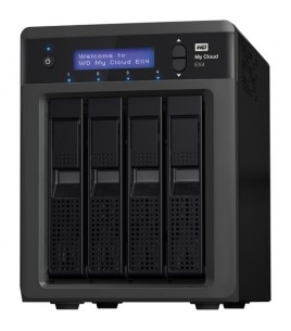 Western Digital My Cloud EX4 4-bay NAS Server 16TB, 2xUSB3.0, 2xGLAN (WDBWWD0160KBK-EESN)
