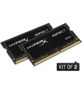 Kingston HyperX Impact 32GB (2x16GB) DDR4 2400MHz CL14 SODIMM (HX424S14IBK2/32)