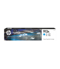 HP Inkjet Cartridge, No 913A Cyan PageWide