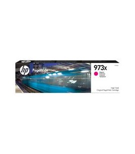 HP Inkjet Cartridge, No 973X High Yield Magenta PageWide