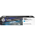 HP 981X Laser Toner High Yield Cyan PageWide (L0R09A)