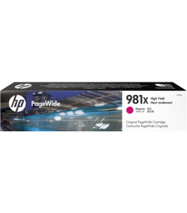 HP 981X Laser Toner High Yield Magenta PageWide (L0R10A)