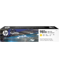 HP 981X Laser Toner High Yield Yellow PageWide (L0R11A)