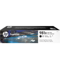 HP 981X Laser Toner High Yield Black PageWide (L0R12A)