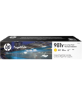 HP Inkjet Cartridge, No 981Y Extra High Yield Magenta PageWide