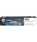 HP No 981A, Laser Toner, Yellow PageWide