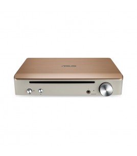 Asus SBW-S1 Pro Impresario, External Blu-Ray Recorder with Built-in Sound Card, USB2.0, Gold