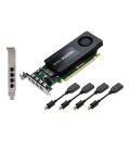 PNY Quadro K1200 for DisplayPort, 4GB GDDR5, 128-bit, 4xDP