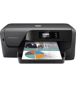 HP OfficeJet Pro 8210 Color Printer, A4, 1200x1200, 22ppm, USB, LAN, WiFi, Duplex (D9L63A)