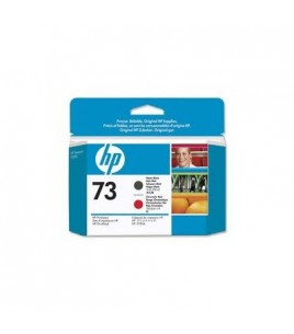 HP 73 Matte Black & Chromatic Red Printhead (CD949A)