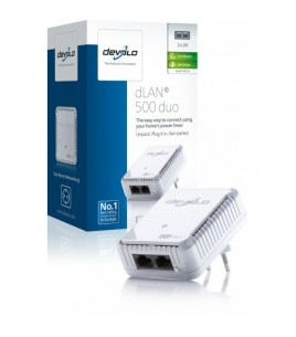 Devolo dLAN 500 duo Single Adapter (9119)