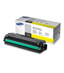 Samsung CLT-Y506S Toner Yellow Toner (1,500 pages)