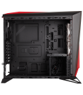 Corsair Carbide SPEC-ALPHA Mid-Tower Gaming Case, Black/Red(CC-9011085-WW)