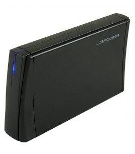 LC-Power 3.5-inch USB 3.0 Enclosure, Black (LC-35U3-ACRUX)