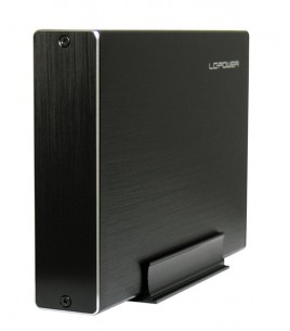 LC-Power 3.5-inch USB 3.0 Enclosure, Black (LC-35U3-BECRUX)