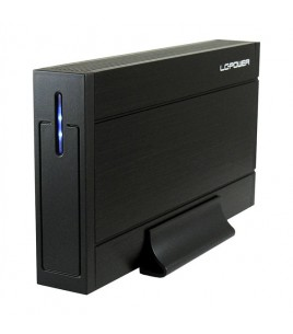 LC-Power 3.5-inch USB 3.0 Enclosure, Black (LC-35U3-SIRIUS)