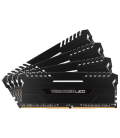Corsair Vengeance LED 64GB (4x16GB) 2666MHz DDR4 C16, White Led  (CMU64GX4M4A2666C16)