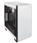 Corsair Carbide Clear 400C Compact Midi Tower, White (CC-9011095-WW)