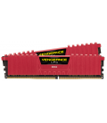 Corsair Vengeance LPX 16GB (2x8GB) 3600MHz DDR4 C18, Red w/ Fan (CMK16GX4M2B3600C18R)