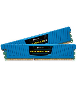Corsair Vengeance LP 8GB (2x4GB) 1600MHz DDR3 CL9, Blue (CML8GX3M2A1600C9B)