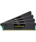 Corsair Vengeance LP 16GB (4x4GB) 1600MHz DDR3 CL9, Black (CML16GX3M4A1600C9)