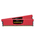 Corsair Vengeance LP 16GB (2x8GB) 1600MHz DDR3 CL10, Red (CML16GX3M2A1600C10R)