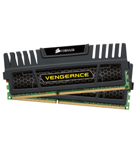 Corsair Vengeance 8GB (2x4GB) 1600MHz DDR3L CL9, Black (CMZ8GX3M2A1600C9)