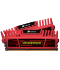 Corsair Vengeance 16GB (2x8GB) 1600MHz DDR3 CL10, Red (CMZ16GX3M2A1600C10R)